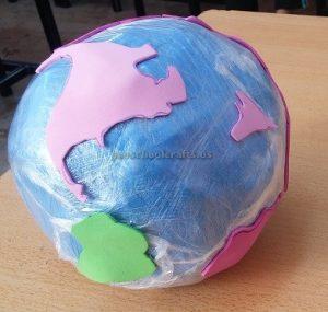 Preschool Earth Day Craft Idea
