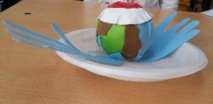Preschool Happy Earth Day Paper Plate Craft Idea