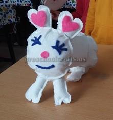Preschool craft to easter bunny
