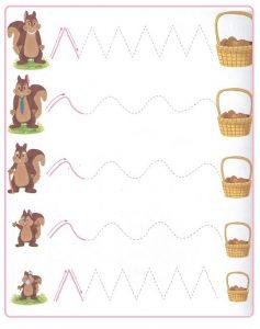 Printable Tracing Line Worksheets for Kids