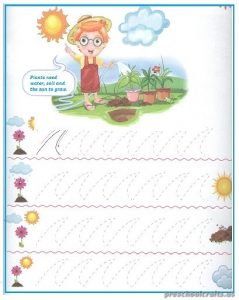 Printable Tracing Line Worksheets for Kindergartners