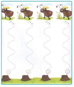 Printable Tracing Line Worksheets for Preschool Teachers