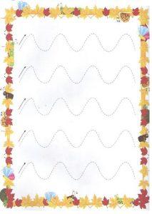 Printable Tracing Line Worksheets for Toddler