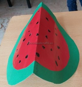Spring Fruits Watermelon Craft Ideas for Preschool