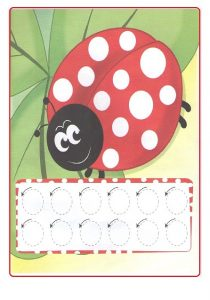 Spring theme tracing line worksheet for preschoolers