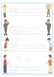 Straight line tracing worksheets for toddler