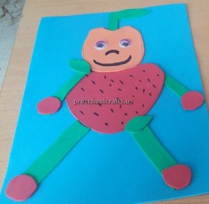 Strawberry craft ideas for kindergartners