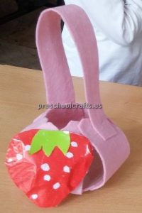 Strawberry craft ideas for preschooler