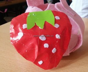 Strawberry craft ideas for preschoolers