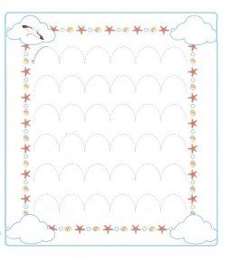 Tracing Line Worksheet for Preschool