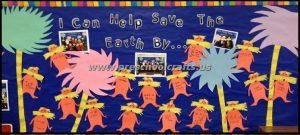 earth day bulletin boards for preschool