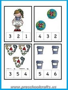 earth day numbers worksheets for kids