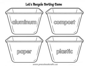 earth day recycle activities