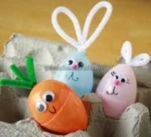 happy easter egg craft for preschool - happy easter egg craft