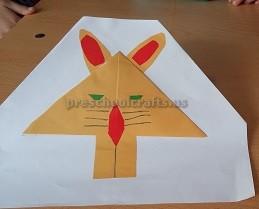 folding paper craft ideas for preschool
