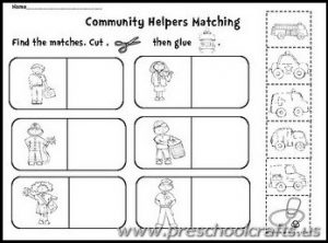 Limited Community Helpers Free Printables Worksheet Worksheets For ...