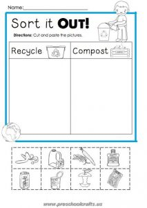 free printable happy earth day worksheets