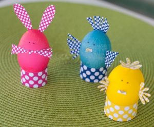 happy easter egg crafts - egg craft ideas for kindergarten