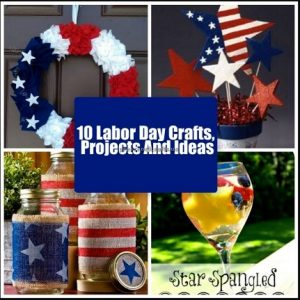 happy labor day craft idea for preschoolers