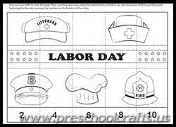 happy labor day worksheets for kids