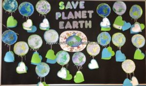 kids earth day bulletin board activities