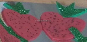 kindergarten craft ideas to strawberry