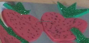 kindergarten craft ideas to strawberry
