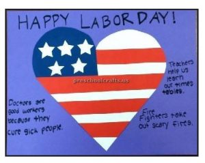 labor day craft ideas for preschool