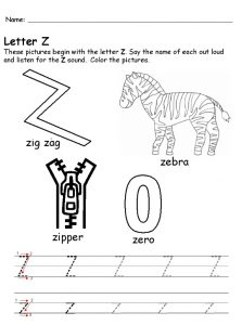 pictures begin with the Uppercase letter z