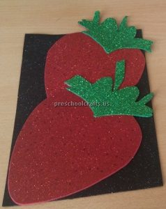 preschool craft to strawberry