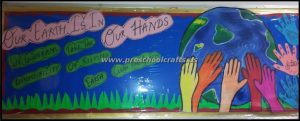 preschool earth day bulletin board ideas