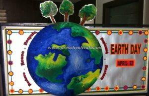 preschool happy earth day bulletin boards