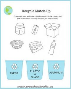 printable free earth day worksheets for preschool