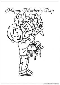 Download Free Printable Mother's Day coloring pages