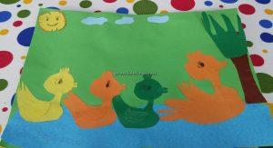 Duck craft ideas for kindergarten