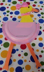 Duck craft ideas for preschool - Paper plate duck craft