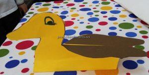 Kindergarten duck craft