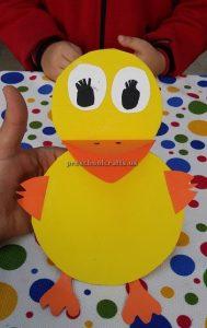 Kindergarten duck craft ideas