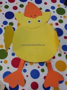 Kindergarten duck craft ideas - easy duck craft idea