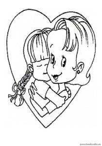 Mother's Day Coloring Pages for Toddler