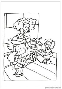 Mother's Day Kids Coloring Pages & Free Printable
