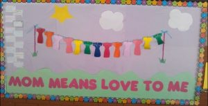 Mother's day bulletin board ideas for preschool and kindergarten