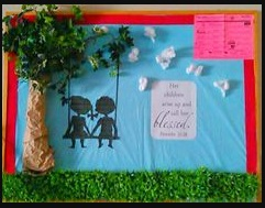 Mother's day tree themed bulletin board ideas for preschool