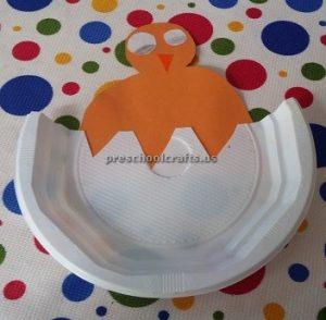 Paper plate duck craft ideas for preschool