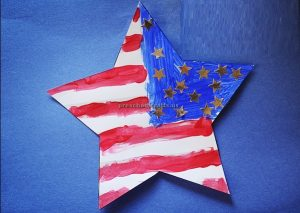 Patriotic star craft ideas to memorial day for kindergarten