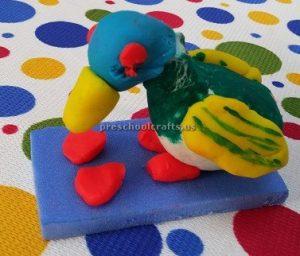 Pre-school duck craft idea