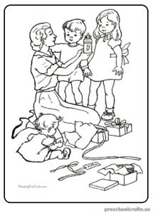 Preschool Mother's Day Coloring Pages & Free Printable