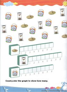 count and graph worksheet for preschoolers