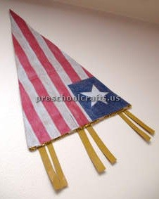 flag craft to memorial day ideas for kindergarten