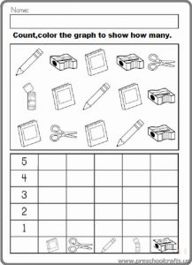 free graphing workpages for kids